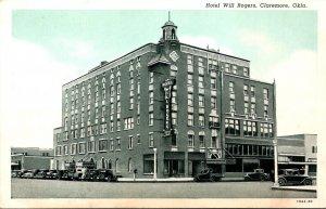 Oklahoma Claremore Hotel Will Rogers Curteich