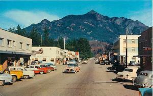 Street Scene Hope BC British Columbia Canada Chrome