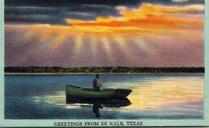 Texas Greetings From De Kalb