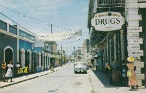 Virgin Islands St Thomas Charlotte Amalie Street Scene sk4083