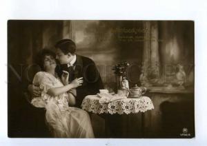 240073 FASHION Lovers TEA CUP Pot TIME Vintage PHOTO RPH #6