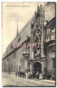 Old Postcard Nancy Ducal Palace Museum Lorrain