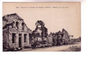 La Ponsee, War Ruins, Route Laon, Urcel, France