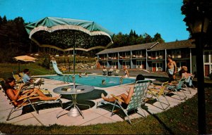 New York Lake Placid Lakecrest Motel 1969