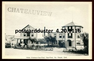 dc394 - CAP- CHAT Quebec Postcard 1930s Hotel by Blais