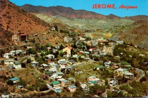 Arizona Jerome Panoramic View Of Ghost City