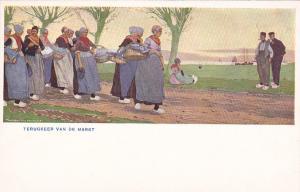 TERUGKEER (Utrecht), Netherlands, 1900-10s; AS, Dutch Women & Men,