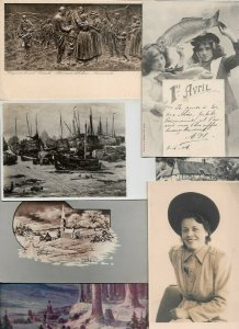 Beautiful Fantasy Women Victorian Style Mixed Postcard Lot of 20  01.15