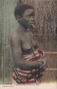 Africa Nude Topless Senegal Dakar Jeune Fille Volof