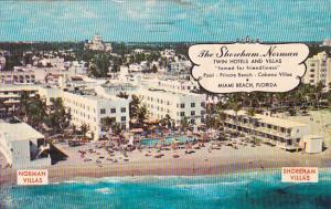 The Shoreham Norman Twin Hotel & Villas Pool Miami Beach Florida 1965