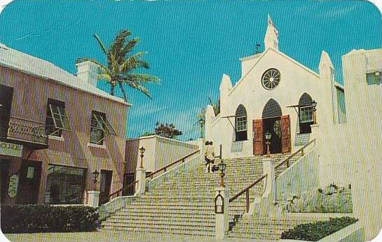Bermuda St George's St Peters Church 1964