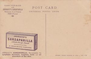 AFRICA, 00-10s; African Army: Spahis on the front; ADV on back Sarsaparilla soap
