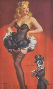 PIN-up ; 1930s ; Lucky Dog