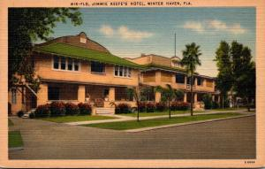 Florida Winter Haven Jimmie Keefe's Hotel