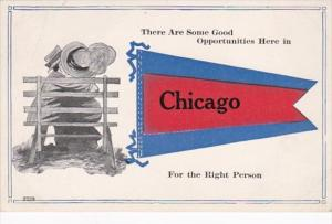 Illinois Chicago There Are Some Good Opportunities Pennant Series