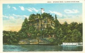 Starved Rock, Illinois State Park 1910s 1920s unused Post...