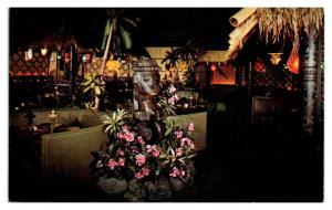 Kon-Tiki Restaurant & Lounge Sheraton Gibson Hotel, Cincinnati OH Postcard *5N21