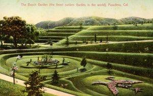 CA - Pasadena. The Busch Garden