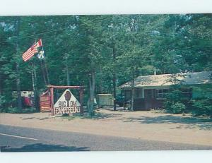 Unused Pre-1980 CAMPING - BIG OAK CAMPGROUND Cape May New Jersey NJ c3520