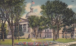 SANTA FE, New Mexico, 1930-1940's; State Capitol Building