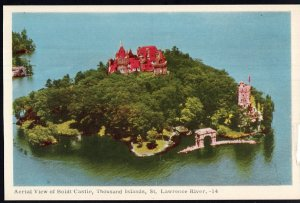 Ontario ~ Aerial Boldt Castle Thousand Islands St. Lawrence River PECO WB
