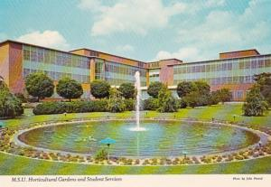 Michigan East Lansing Horticultural Gardens & Student Services Building Michi...