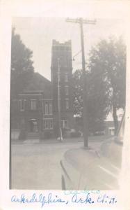 Arkadelphia Arkansas Court House Real Photo Antique Postcard K60242
