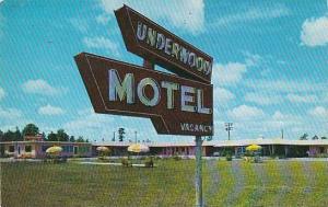 Florida Starke Underwood Motel 1960