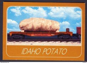 SURREALISME FANTASY EXAGGERATION ~ Idaho Potato - large potato on Southern Pacif