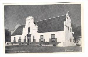 Groot Constantia, South Africa, 1920-1940s