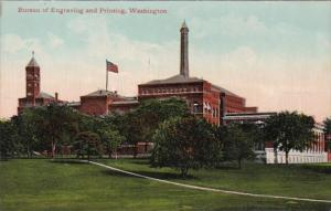 Washington D C Bureau Of Engraving and Printing