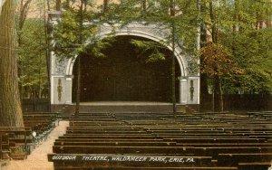 PA - Erie. Waldameer Park, Outdoor Theatre