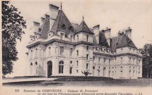 France Bayeux Environs de Compiegne Chateau de Francfort