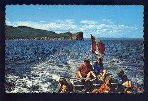 Perce, Quebec, Canada Postcard, Excursion Boat Ride