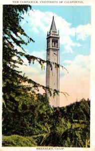 California Berkeley The Campanile University Of California 1940