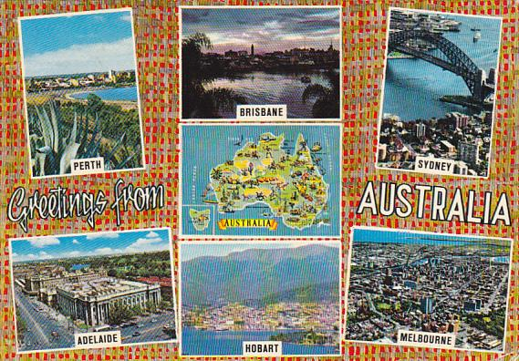 Greetings From Australia Multi View