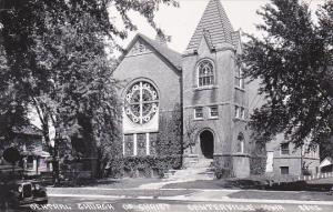 Iowa Centerville Central Church Of Christ Real Photo