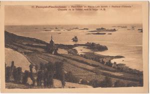Paimpol-Ploubazlanec, Pors-Even ou Pierre Loti ecrivitt, Chapelle de la Trinite