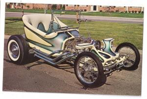 Roadster Hot Rod Roth's Outlaw Show Car Photo Card