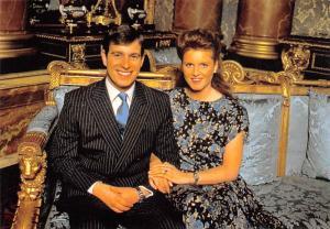 Prince Andrew & Miss Sarah Ferguson -