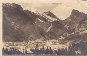 RP, Kandersteg Mit Lotschbergtunneleingang, LOTSCHBERGBAHN, Switzerland, 1920...