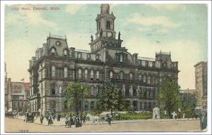City Hall, Detroit Mich