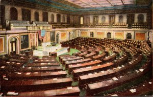 Washington D C United States Capitol Hall Of Representatives