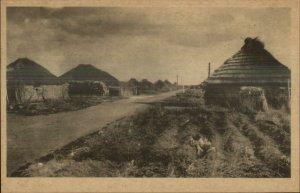 Japan Hokkaido Ainu ? c1910 Postcard #3 HOMES