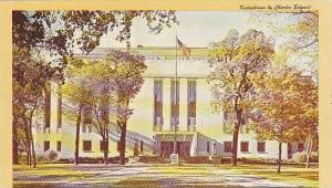 Winnebago County Court House, Oshkosh, Wisconsin, 40-60s