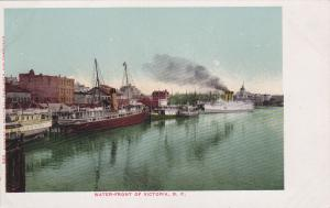 VICTORIA, B.C., Canada, 1901-07; Boats, Water-Front