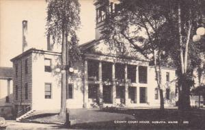 County Court House, Augusta, Maine, 1900-1910s
