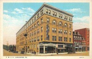 Y.M.C.A. Lancaster, Pennsylvania ca 1920s Vintage Postcard