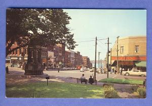 Saint John,New Brunswick,Canada Postcard, King St/Woolworths