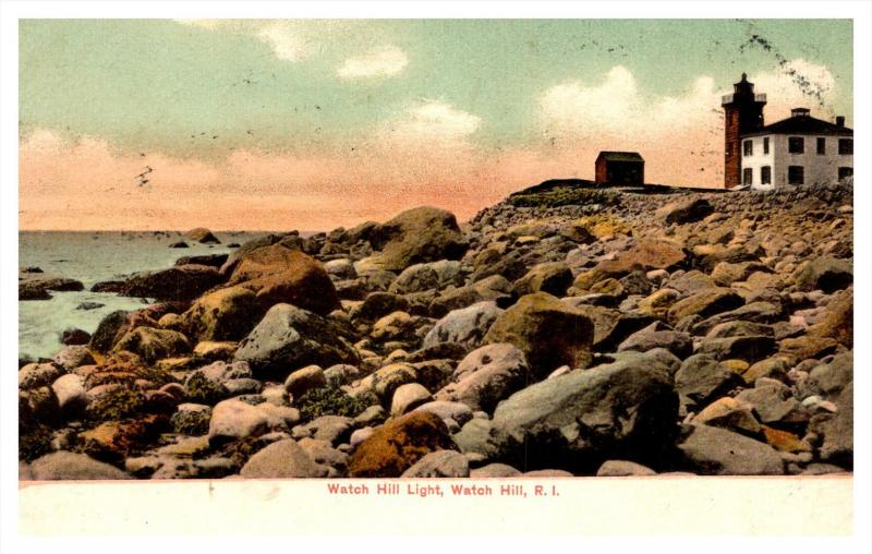 Rhode island   Watch Hill  , Light House Point
